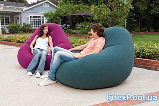 Надувное кресло-велюр Intex 122х127х81 см (68584), фото 2