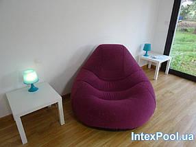 Надувне крісло-велюр Intex 122х127х81 см (68584), фото 3