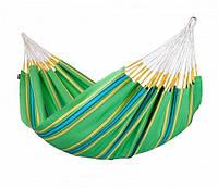Гамак двухместный подвесной тканевый Зеленый La Siesta