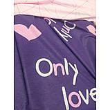 Комплект постельного белья для девочек  Только Любовь  Only love, разные размеры, фото 2