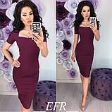 Платье  женское красивое футляр модное стильное купить 42 44 46 48 50 52 Р, фото 3