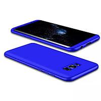 Чохол GKK 360 для Samsung Galaxy S8 / G950 бампер накладка Blue