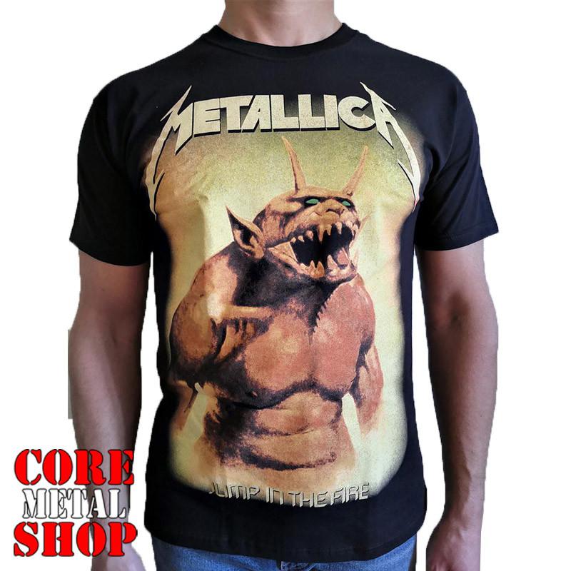 Футболка Metallica - Jump In The Fire