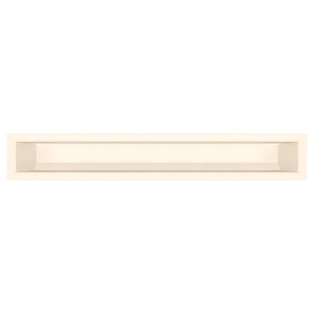 Вентиляційна решітка для каміна SAVEN Loft 90х600 кремова