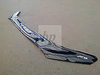 Дефлектор капота (мухобойка) Mitsubishi lancer X (митсубиси лансер Х (10) 2007+)
