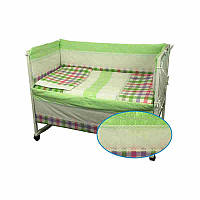 Защитное ограждение для кроватки Руно Прованс 60х120 см (922Прованс)