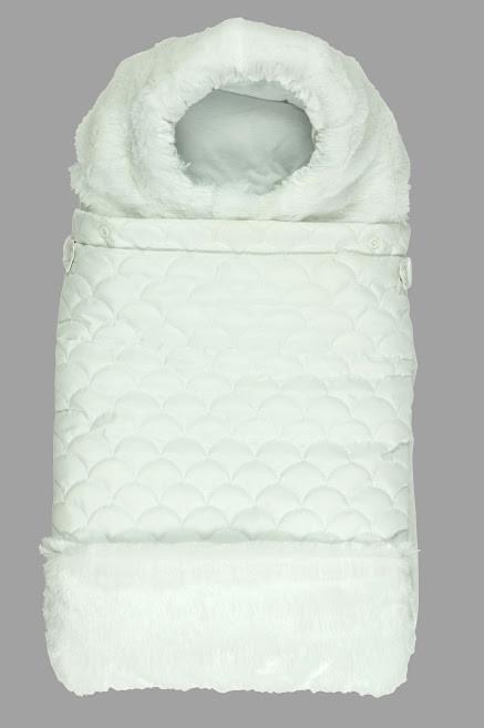 Конверт для новорожденных Руно Зимний 65х40 (714У_білий)