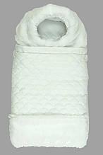 Конверт для новонароджених Руно Зимовий 65х40 (714У_білий)