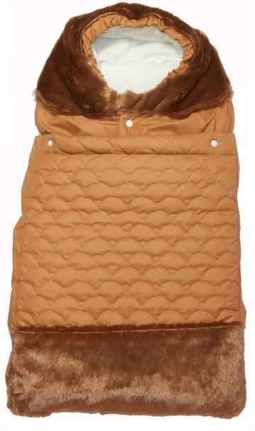 Конверт для новорожденных Руно Зимний 65х40 (714У_коричневий)