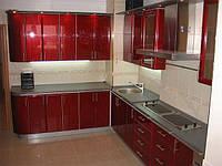 Кухня Рубин (крашенный МДФ)