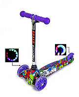 Самокат Детский Micro Mini Graffity Violet (hub_ODGP35192)