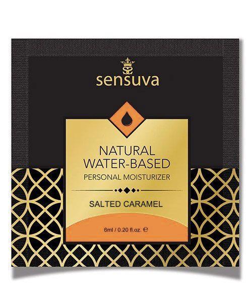 Пробник Sensuva - Natural Water-Based Salted Caramel (6 мл) Bomba💣