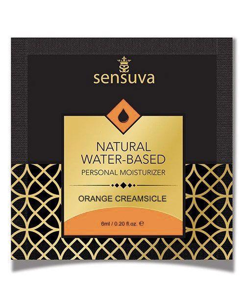 Пробник Sensuva - Natural Water-Based Orange Creamsicle (6 мл) Bomba💣