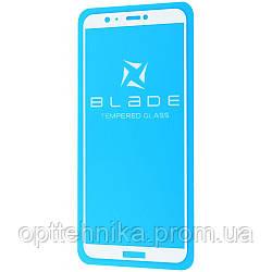 Защитное стекло BLADE Full Glue Huawei P Smart/Enjoy 7S white