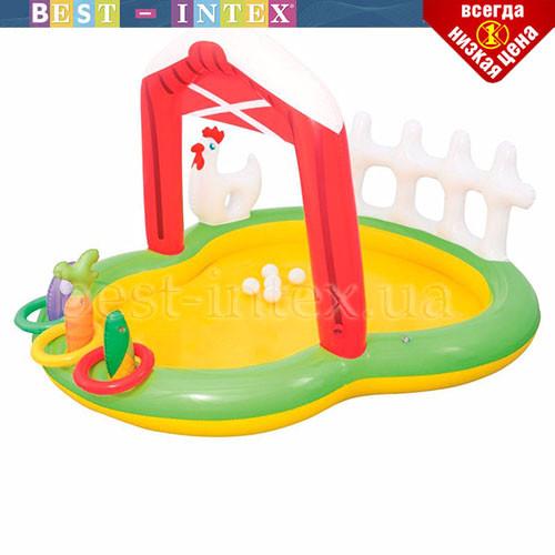 Водный надувной игровой центр Bestway 53065 (175-147-102 см) Ферма