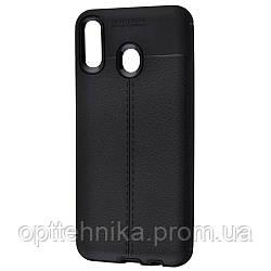 Ultimate Experience Leather (TPU) Samsung Galaxy M20 (M205F) black