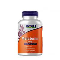 Восстановитель NOW Melatonin 3 mg, 90 жевательных таблеток