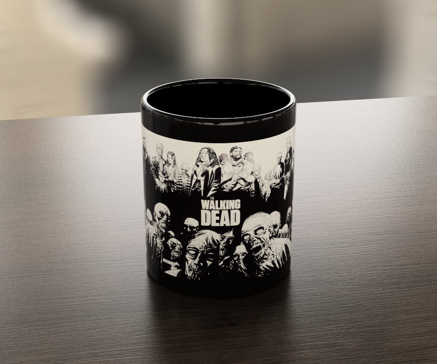 Кружка чашка Walking Dead