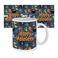 Чашка с принтом 63602 Happy Halloween мультяшки
