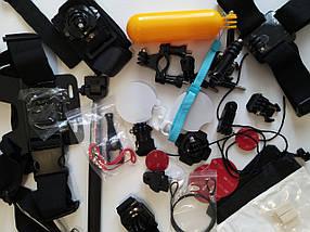 Аксессуары набор крепления для экшнкамер gopro 36 шт.