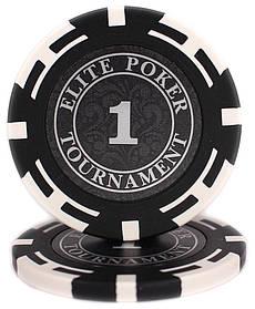 """Фишки """"Elite Poker Tournament"""" значение 1"""