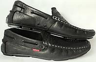 Новинка от Levis мокасины! Натуральная кожа Левис летние туфли в стиле Levi Strauss 90-01, фото 1
