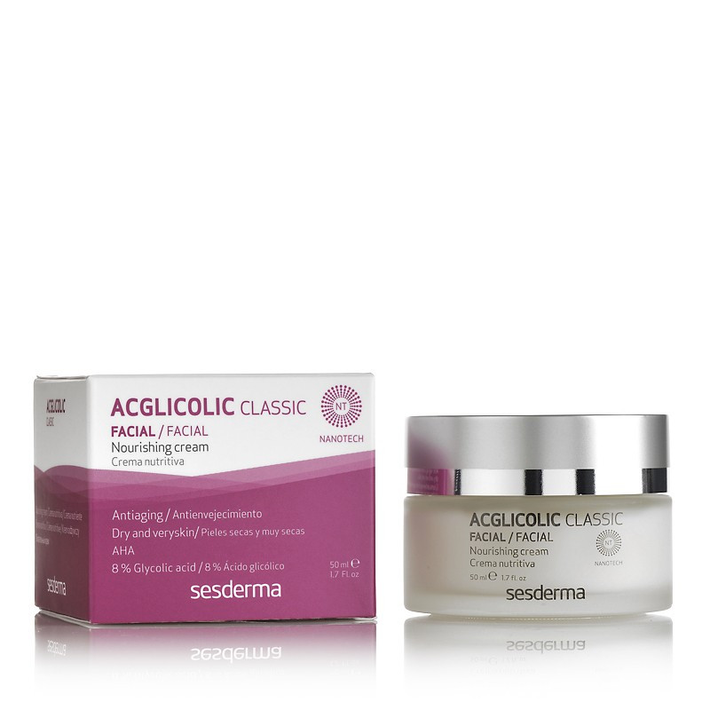 Увлажняющий крем-гель SesDerma Laboratories Acglicolic Classic Forte Moisturizing Gel Cream