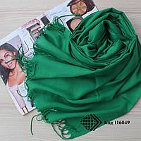 Шарф зеленый Ozsoy из тонкой пашмины 116049