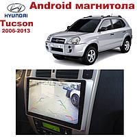 Штатная автомагнитола для Hyundai Tucson 2006-2013 на ANDROID 8.1 (М-ХТ-10), фото 1