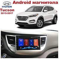 Штатная автомагнитола для Hyundai Tucson 2015-2017 на ANDROID 8.1 (М-ХТн-9)