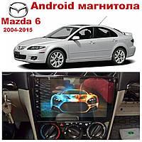 Штатная автомагнитола для Mazda 6 2004-2015 на ANDROID 8.1
