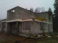 Стены из газобетона в Киеве