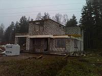 Строительство стены из газобетона