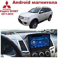 Штатная автомагнитола для Mitsubishi Pagero SPORT 2011-2015 на ANDROID 8.1