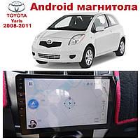 Штатная автомагнитола для Toyota YARIS 2008-2013 на ANDROID 8.1 (М-ТЯ-9)