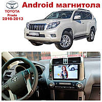 Штатная автомагнитола Toyota Land Cruiser Prado 2010-2013 на ANDROID 8.1
