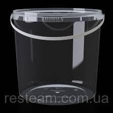 Ведро прозрачное 2,3 л