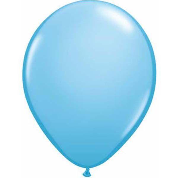 """Шар воздушный Qualatex Бледно-голубой pale blue 11"""" (28см)"""