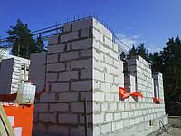 Строительство домов из газобетона в Киеве