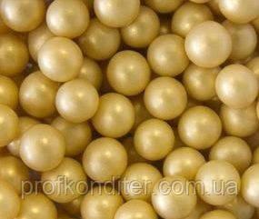 Намистинки золото 7мм 20 грам