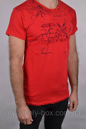 ОПТОМ.Футболка мужская 3D ХЛОПОК (Арт. WS043/8)   4 шт., фото 2