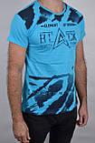 ОПТОМ.Футболка мужская 3D ХЛОПОК (Арт. WS047/5) | 4 шт., фото 2