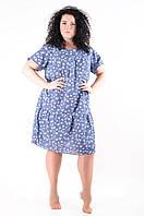 Платье летнее женское трикотаж размеры 50-54