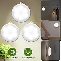 LED светильник с датчиком движения для дома - удобное освещение шкафа, комода, подсобки