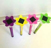 Садовый газонный Led светильник на солнечной батарее Lemanso CAB116 (цветной корпус, белый свет)