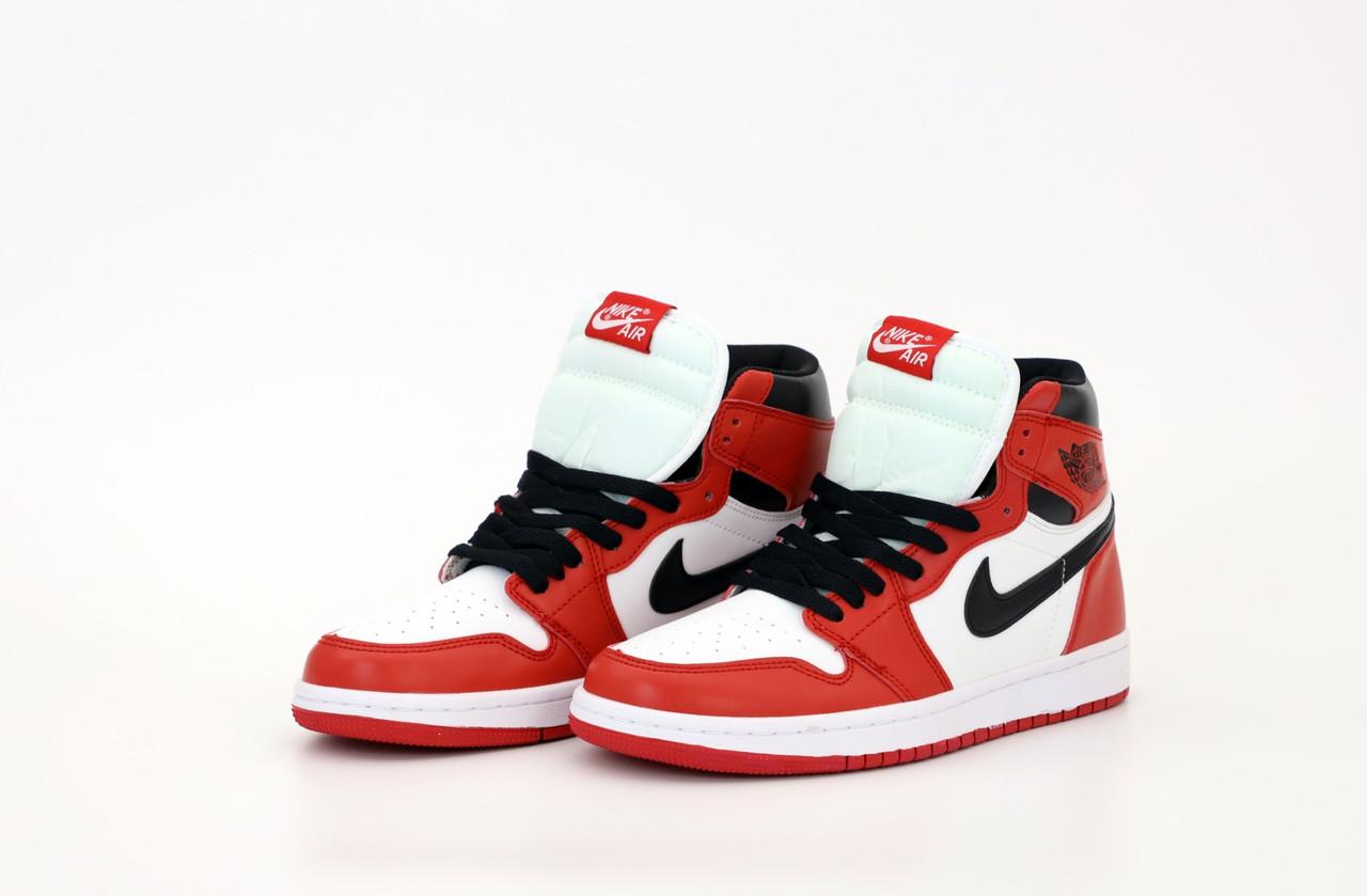 Мужские высокие Кроссовки Nike Air Jordan 1