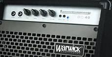 Комбоусилитель для бас-гитары WARWICK BC40 Басовый комбоусилитель, фото 3