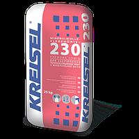Клейова суміш для кріплення плит з мінеральної вати Kreisel 230 (25 кг)