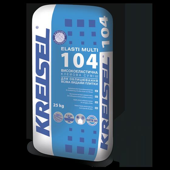 Високоеластична клейова суміш для плитки Kreisel 104 (25 кг)