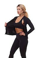 Женская спортивная кофта для фитнеса Asalart classic Black